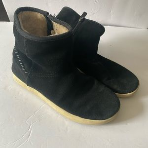Vintage UGG Booties black sz 5 women 35 euro